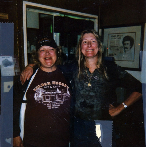 Sheila & Chef Shela (Golden Nugget Bar and Grill; Yaat, MT) - Mark Twain People